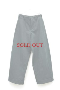 """toogood """" THE WRITER TROUSER - WOOL COTTON DRILL """" col.NIGHT"""
