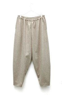 "toogood "" THE ACROBAT TROUSER - WOOL CASHMERE "" col.MUD"