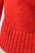 画像9: Cristaseya クリスタセヤ  #14E-R SHETLAND SWEATER  シェットランドセーター col.RED