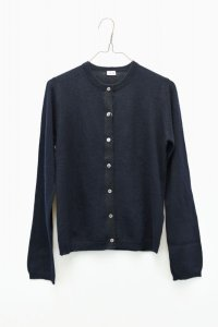 "eleven 2nd  ""Mohair-Front Cardigan"" col. Dk.Navy"