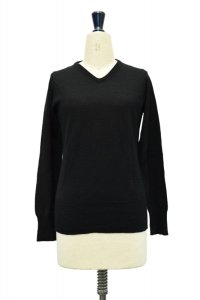 "eleven 2nd  ""V Neck Jumper""  col. Black"