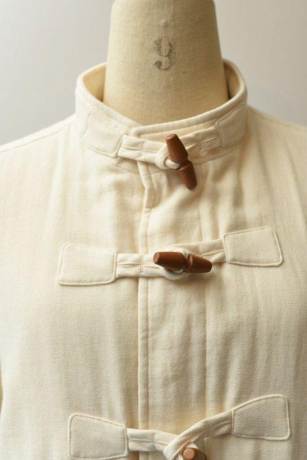 画像2: Cristaseya    Japanese Triple Gauze Patched Jacket    col.White