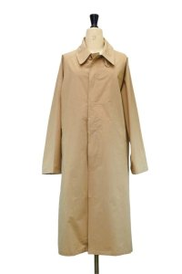 Cristaseya    Japanese Dray Cotton Oversized Trench    col.Beige