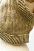 画像4: Cristaseya  Cotton Knit Gilet  col.L.Khaki