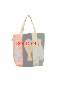 KHOKI  Souvenir tote bag  col.Orange