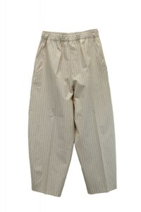 Cristaseya    JStriped Silk & Cotton Moroccan Pajama Pants    col. Brown Stripes