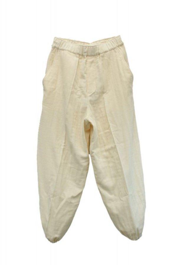 画像1: Cristaseya    Japanese Tripple Gauze Balloon Pants    col.White
