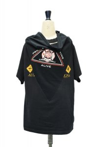 BLESS N゜69  Scarfer T-Shirt  col.BLACK