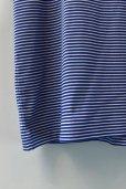 画像6: Sans limite  フライスボーダーTシャツ   col.BLUE
