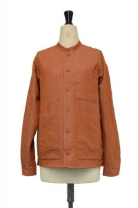 toogood  THE LOCKSMITH SHIRT - LINEN COTTON DRILL  col.CLAY