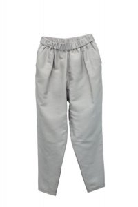 humoresque  tapered pants  col.pale grey