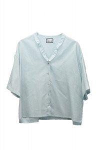 humoresque   ripple blouse  col. mint