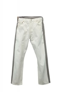 BLESS  N゜69  Jeanspleatfront  col.White / Grey