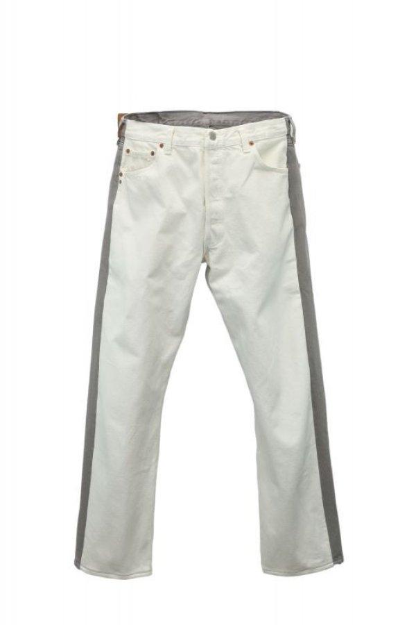 画像1: BLESS  N゜69  Jeanspleatfront  col.White / Grey