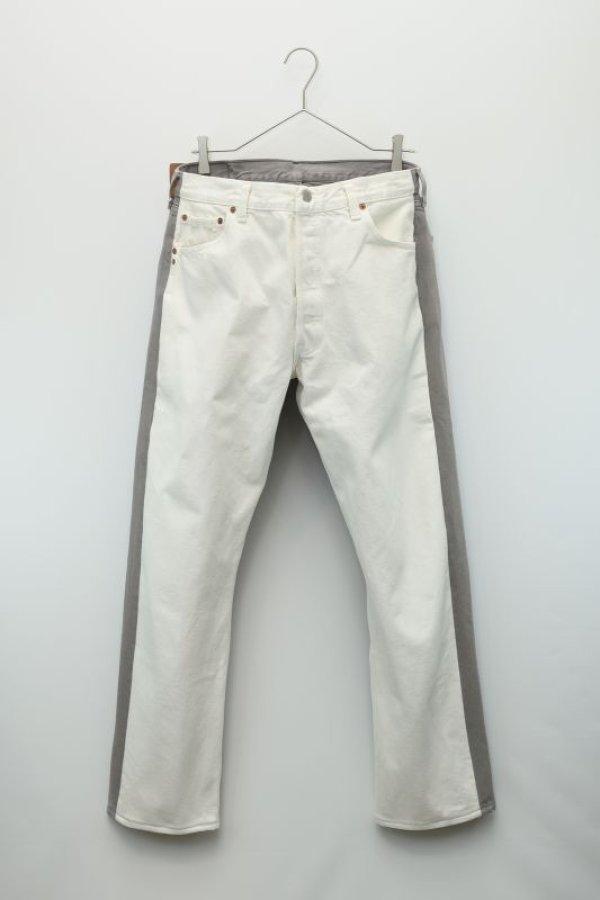 画像2: BLESS  N゜69  Jeanspleatfront  col.White / Grey