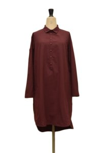 toogood  THE BAKER TUNIC  col.MADDER