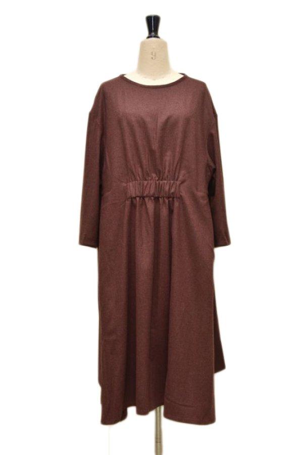 画像1: toogood  THE FLORIST DRESS  col.MADDER