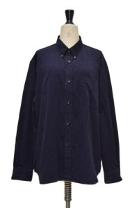 Sans limite  BOXボタンダウン WASHED  col.NAVY