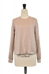 humoresque   long tuck blouse  col.beige