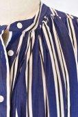 画像9:  CASEY CASEY  17FR275  CHRYSANTHEME DRESS  col.DARK NAVY