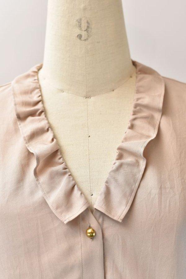 画像2: humoresque   chelsea collar blouse  col.beige