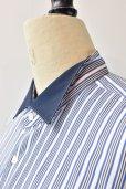 画像3: Sans limite  Wing Collar B THOMAS MASON  col. STRIPE